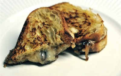 Gruyere and Fontina Grilled Cheese