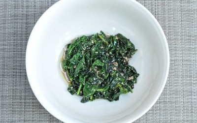Garlic Truffle Spinach